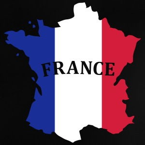 Karte Frankreich, France Map, Flag Map France T-shirts - Baby-T-shirt