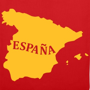 Karte Spanien, Spain, Map Bags & Backpacks - Tote Bag
