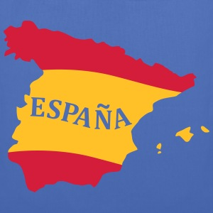 Karte Spanien, Spain, Map, Flag Map Spain Bags & Backpacks - Tote Bag