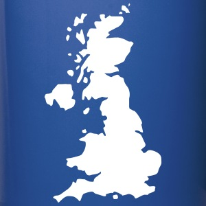 Karte UK, UK Map Mugs & Drinkware - Full Colour Mug