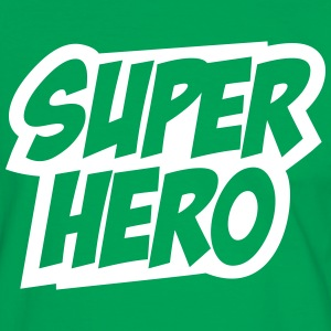 Superhero, Comic, Hero, Super, Best, Winner, Boss T-Shirts - Men's Ringer Shirt