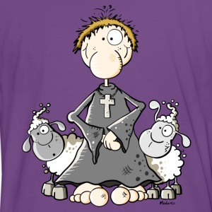 Pastor with sheep T-Shirts - Men's Premium T-Shirt