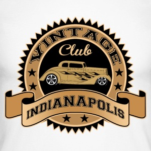 vintage cars club Long sleeve shirts - Men's Long Sleeve Baseball T-Shirt