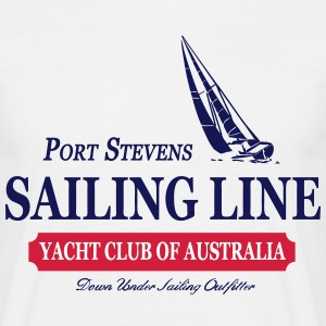 Sailing Line T-Shirts - Men's T-Shirt