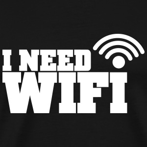 wifi T-Shirts - Men's Premium T-Shirt