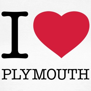 I LOVE PLYMOUTH - Frauen T-Shirt
