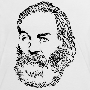 Walt Whitman T-Shirts - Frauen Kontrast-T-Shirt