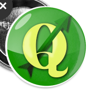 Design ~ Buttons with QGIS logo
