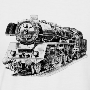 steam locomotive T-Shirts - Men's Baseball T-Shirt