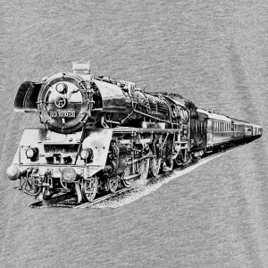 steam locomotive Shirts - Teenage Premium T-Shirt