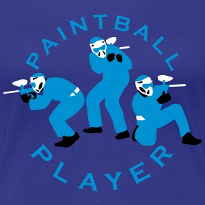 paintball_022015_c_3c T-Shirts - Frauen Premium T-Shirt