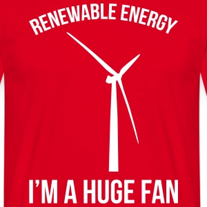 Renewable Energy T-Shirts - Men's T-Shirt