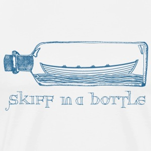 Skiff In A Bottle - Men's Premium T-Shirt