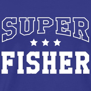 Super Fisher T-shirts - Herre premium T-shirt