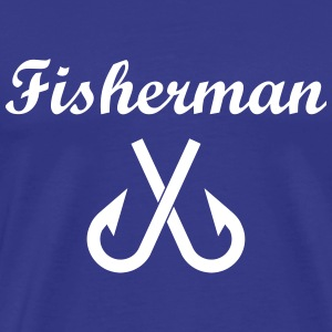 Fisherman T-shirts - Herre premium T-shirt