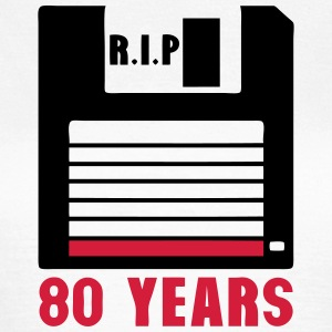 Rip 80 years floppy disk 3 inch T-Shirts - Women's T-Shirt
