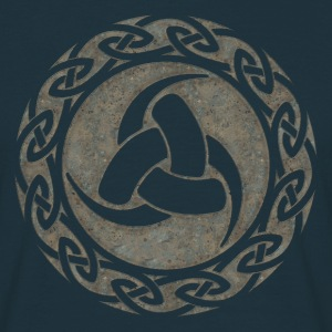 Triple Horn of Odin, Celtic Knot, Odin Symbol T-shirts - Mannen T-shirt