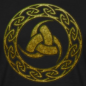 Triple Horn of Odin, Celtic Knot, Odin Symbol T-shirts - Herre-T-shirt
