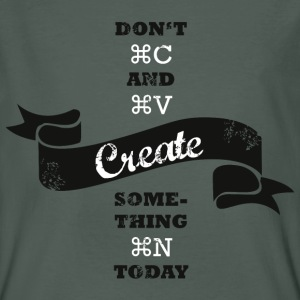 Create new. T-Shirts - Männer Bio-T-Shirt