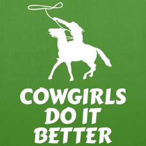Cowgirls do it better Bags & Backpacks - EarthPositive Tote Bag