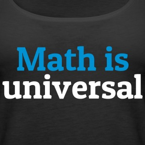Math is universal Tops - Women's Premium Tank Top