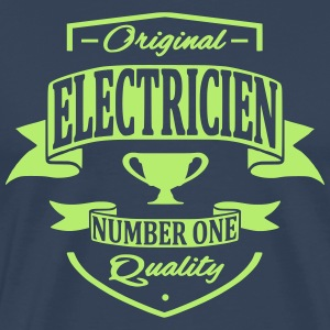 Electricien Tee shirts - T-shirt Premium Homme