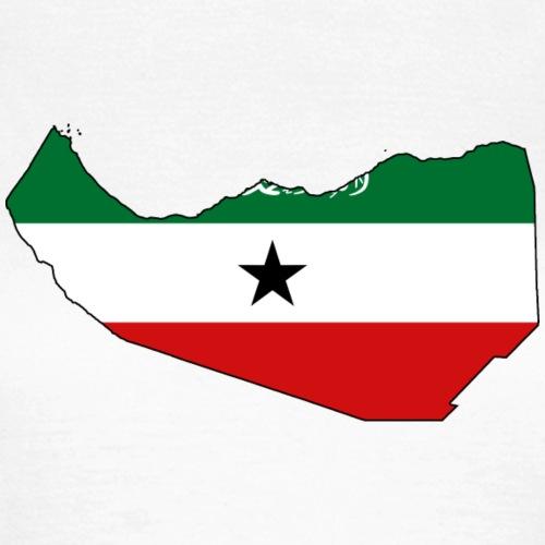 Somaliland Flagmap