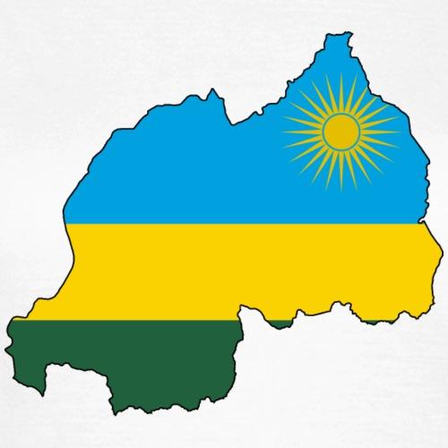 Ruanda Flagmap