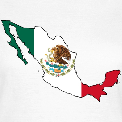 Flagmap Mexico
