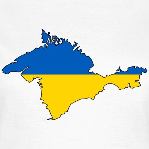Krim Flagmap (Ukraine)
