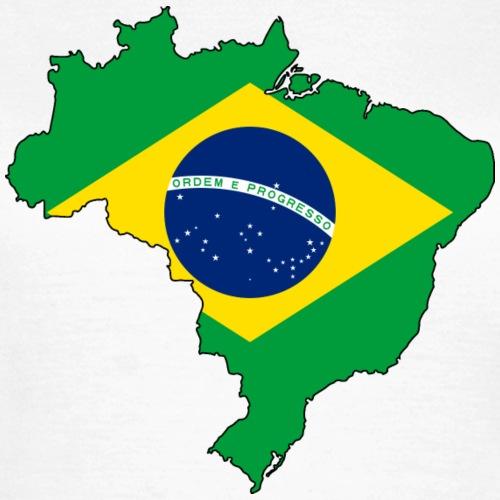 Brasilien Flagmap