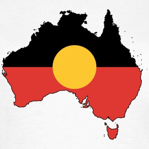 Flagmap Australia abor.