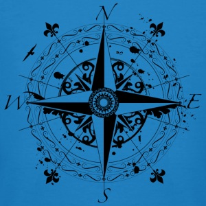 wind rose grunge style T-Shirts - Men's Organic T-shirt