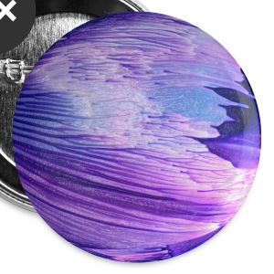 Blue planet cosmic galaxy by patjila Buttons - Buttons medium 32 mm
