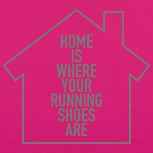 Home Is Where Your Running Shoes Are Tassen & rugzakken - Bio stoffen tas
