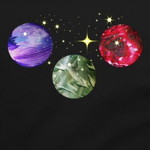 Planets Colourful Cosmic Art by patjila Bags & Backpacks - Shoulder Bag