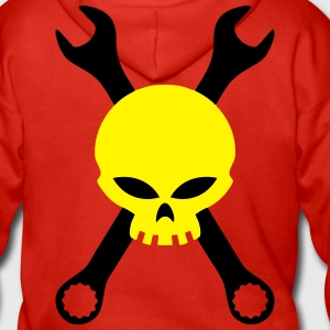Skull and tools Hoodies & Sweatshirts - Men's Premium Hooded Jacket