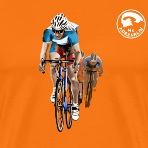 racing bicycle T-Shirts - Men's Premium T-Shirt