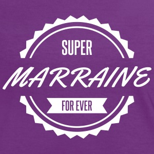 super_marraine_for_ever Tee shirts - T-shirt contraste Femme