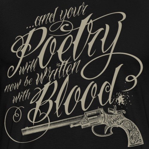 Blood poetry_khaki