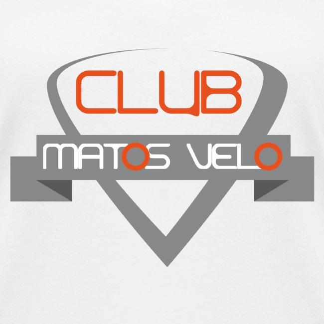 T-shirt femme club MV gris