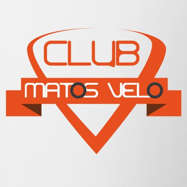 Tasse club MV bicolore orange