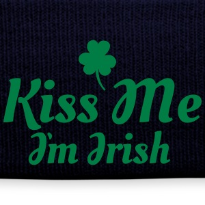 kiss me i'm irish excellent Caps & Hats - Winter Hat