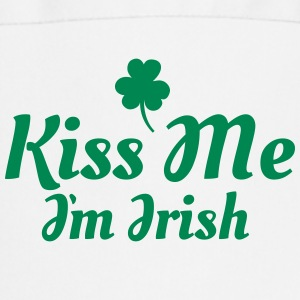 kiss me i'm irish excellent  Aprons - Cooking Apron