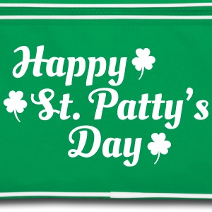 happy st patty's day Tassen & rugzakken - Retro-tas