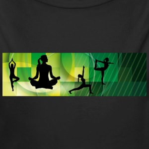yoga_positions01 Pullover & Hoodies - Baby Bio-Langarm-Body