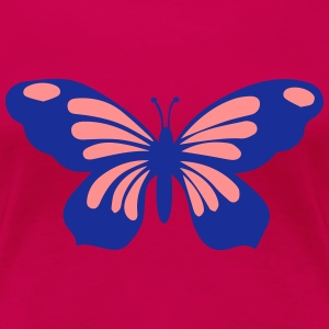 Schmetterling T-Shirts - Frauen Premium T-Shirt
