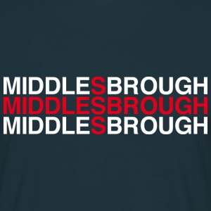 MIDDLESBROUGH - Men's T-Shirt
