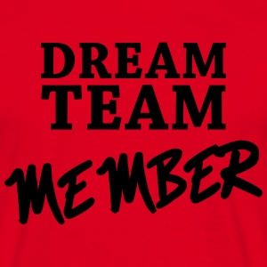 Dream Team Member T-skjorter - T-skjorte for menn