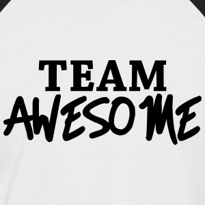 Team Awesome T-shirts - Mannen baseballshirt korte mouw